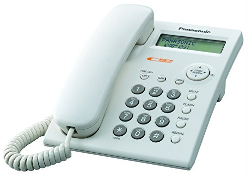 Panasonic KX-TSC11W Corded Phone with Caller ID, - Panasonic Cellular Phones