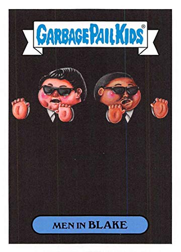 2019 Topps Garbage Pail Kids We Hate the '90s Films Sticker A-Names Non-Sport #13 MEN IN BLAKE Collectible Trading Card Sticker (Men in Black)