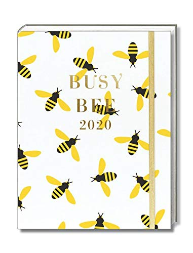 Graphique Hidden Wiro Agenda, Bees – 18-Month 2020 Planner (July 19-December 20) Includes Weekly and Monthly Color Grids and Organizational ...