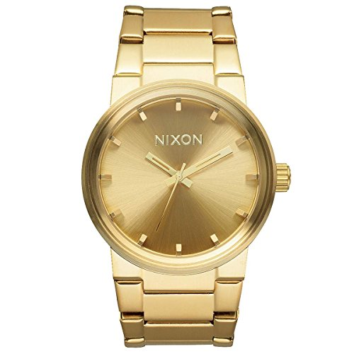 Bezel Pvd Strap (Nixon The Cannon A160502 Unisex Gold Plated)