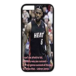 Iphone 6 Case,Hard PC Iphone 6 Protective Case for Ultimate Protect iphone 6 with LeBron James by ruishername