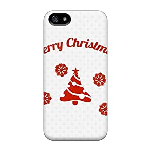 New Arrival Premium 5/5s Cases Covers For Iphone (simple Christmas)
