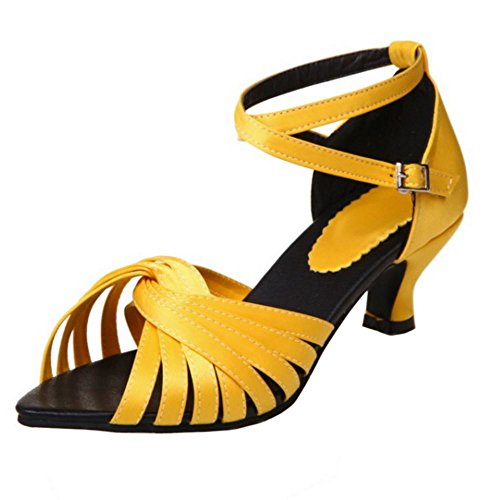 Partito Mode Melady Yellow Scarpe Danza Donne xCTqw8z