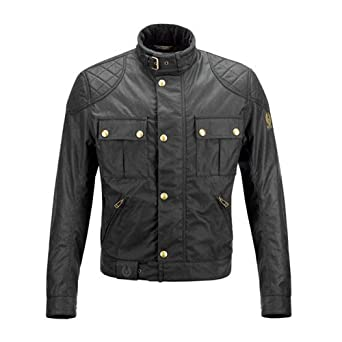 Belstaff Mojave 2.0 Wax Cotton Jacket - Black (S)