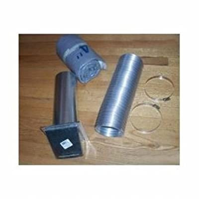 Napoleon 115KT 4ft. Insulated Outside Air Kit for Napoleon Wood Burning Stoves, NA