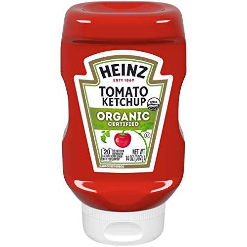 Heinz Organic Tomato Ketchup (14 oz Bottles, Pack of ()