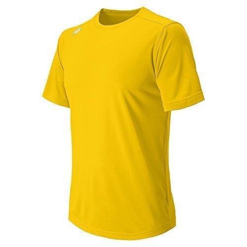 Nieuw Balans Mens Nb Korte Mouw Wicking Tech Tee Shirt Athens Goud