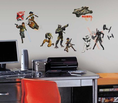 (10x18) Star Wars Rebels Glow In The Dark Wall Decal