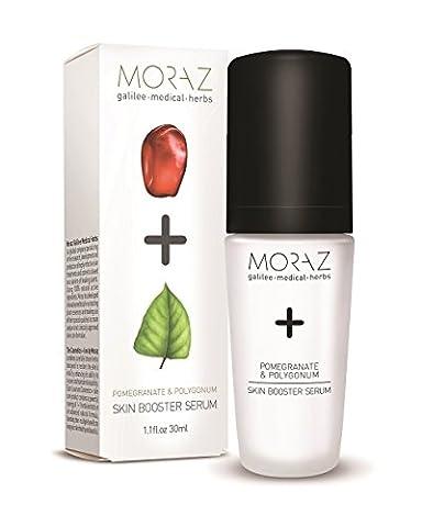Moraz Natural Pomegranate and Polygonum Skin Booster Serum, 30 ml - Protein Booster Skin Serum