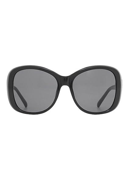 MANGO - Gafas de sol - para mujer Negro negro: Amazon.es ...