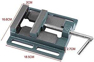 4Tornillo de banco para taladro,Apertura de 110 mm,Apertura ...