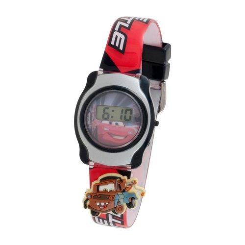 Disney Cars Cars Kids' CRSKD438 Digital Display Analog Quartz Pink Watch