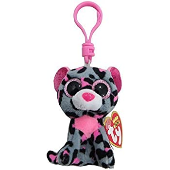 Amazon.com: Ty Beanie Boos Tasha - Leopard Clip by Ty: Toys ...