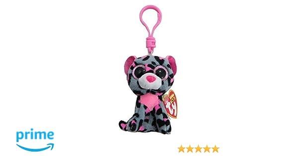 Ty - Ty36616 - Felpa - Clip de Beanie Boo - Tasha El Leopardo: Amazon.es: Juguetes y juegos