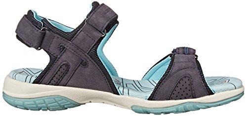 Blue Dark Allrounder Mephisto Mesh Sandal Gladiator by Elba Women's Nubuck v0T1qO