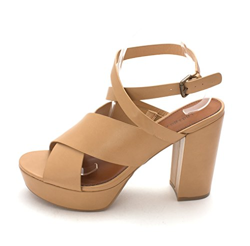 Rd Indigo Open Toe Womens Casual Natural Platform Eddie2 LL Light Sandals Bqd1q