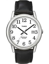 Men's T2H281 Easy Reader 35mm Black Leather Strap Watch