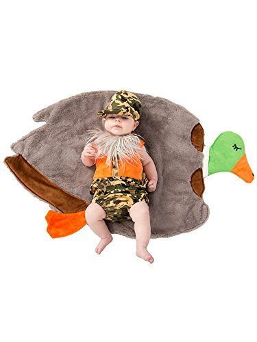 Princess Paradise Baby Swaddle Wings Duck Hunter Costume 0/3M]()