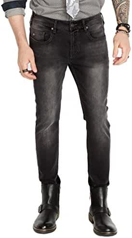 Buffalo David Bitton Men's Max-x Skinny Fit Dark and Sanded Stretch Fashion Denim Pant