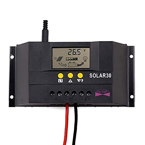 Sun YOBA 30A 12V 24V Solar Panel Battery Charge Controller Intelligent Regulator by Sun YOBA (Image #10)