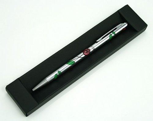 LJ Designs Rennie Mackintosh Rose Style Ballpoint Pen (SG56) ()