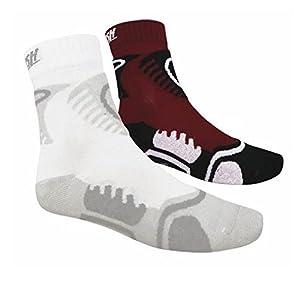 2 Paar SKATE SOFT AIR Socken, Sportsocken, Inlineskate und Skateboard Gr....