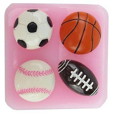 Baloncesto de la NFL en forma de pasta de chocolate molde de ...