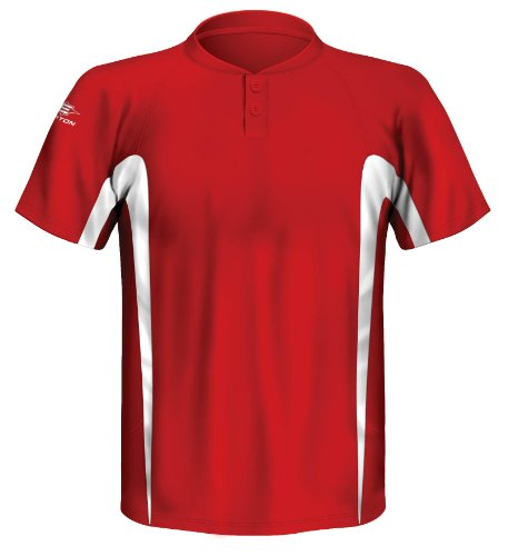 Jersey Baseball Easton - Easton Dual Focus Jersey, Red, Small