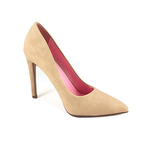 Classic Pointy Delicious Women's Nubuck Single Sole Nat Pump Velvet Cindy Toe Eq7q0