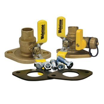 Webstone 1 1/4 Isolator Circulator Installation Kit w/ Rotating Flange 5141WKIT Series by Webstone