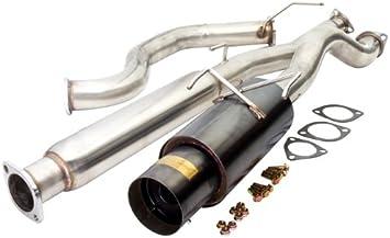 "For 94 95 96 97 98 99 00 01 Acura Integra DC2 4/"" Gunmetal Catback Exhaust Kit"
