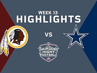 Week 13: Highlights: Redskins vs. Cowboys (14-38)