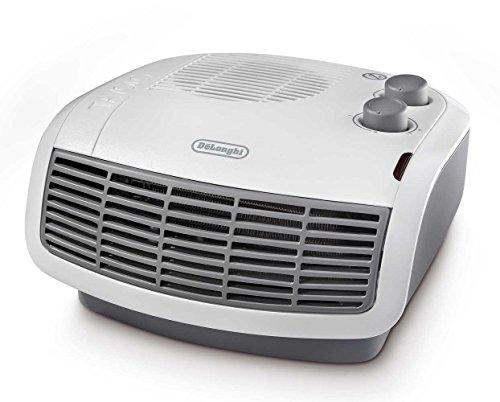 De'longhi HTF3033 Horizontal Fan Heater, 3 KW - White/Grey (Certified...