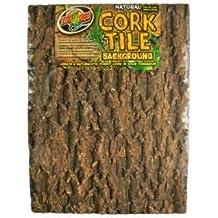 Natural Cork Tile Background Large 18 X 18