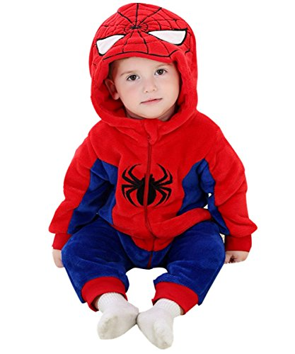 DQdq Baby Boys' Halloween Costume Jumpsuits Autumn Outfit 80/(5-11 Months) (5 Below Halloween Costumes)