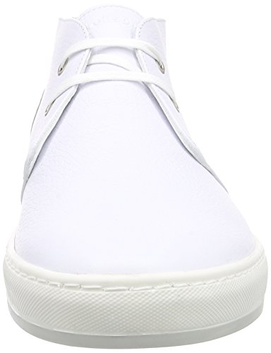 StrellsonEvans Mid Lace I grain leather - Derby Hombre Blanco - Weiß (100)