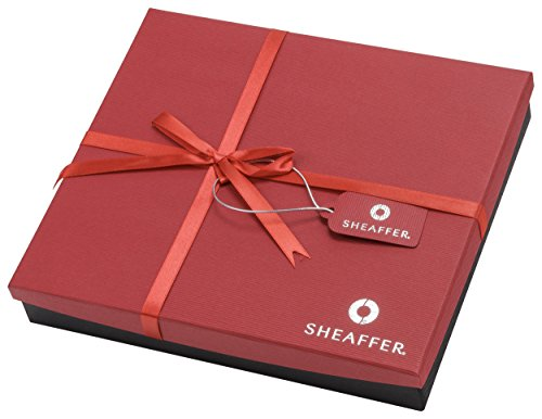 Sheaffer Calligraphy Gift Set, 3 Quill Pens, 3 Nib Grades, 14 Ink Cartridges, Step-by-Step Instructions, Beautiful Gift Box (73408) by Sheaffer (Image #1)