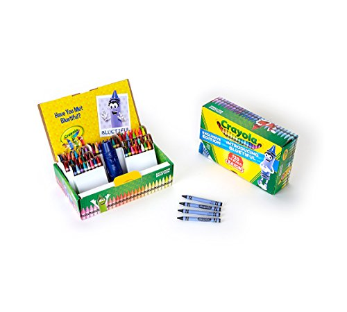 Crayola 124 count Crayons with Bluetiful]()