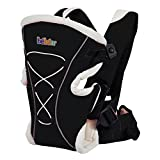 Bebamour Brand Baby Carrier 3 in 1 Front and Back Carrier for Baby Functional Baby Carrier Backpack (Black)