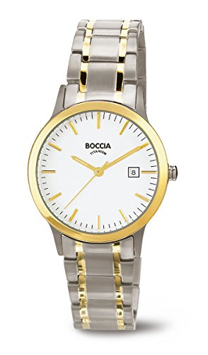 3180-04 Boccia Titanium Ladies Watch, 2 Tone