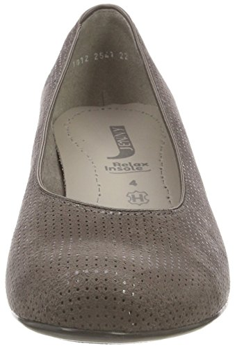 Jenny street Toe Women's Heels Grau 73 Catania Closed rrqx86