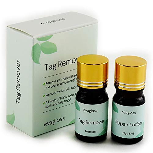 Mole and Skin Tag Remover and Repair Lotion Set, Remove Moles and Skin Tags, for Professional Use Only