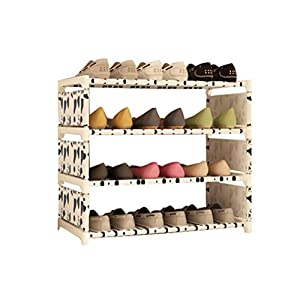 zi lin shop simple small shoe rack multi storey stainless steel dust proof assembly dormitory shoe racks home simple modern shoe cabinet shoe rack