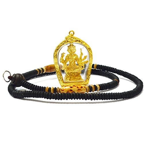 Jewelry Amulets Pra Prom 4 Faces Amulets Lessing Buddha for Life Wealth and Lucky Pendants ()