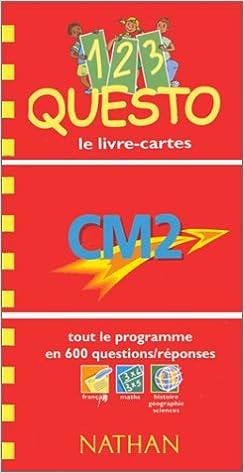 Télécharger en ligne 1, 2, 3, Questo CM2 epub pdf
