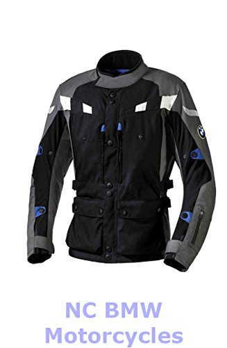 BMW Genuine Motorcycle Men GS Dry Riding Jacket Black / Anthracite Size 58 ()