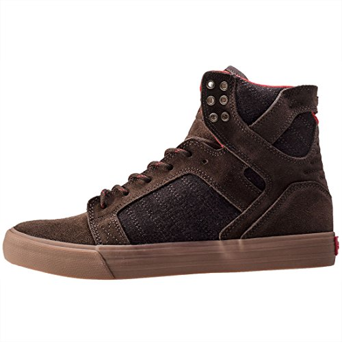 White Regular US Supra 10 Black Shoe Skytop GUM BROWN AwU6YqXt