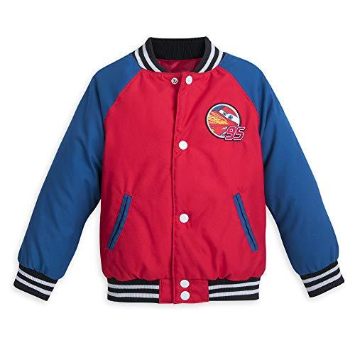 Disney Lightning McQueen Varsity Jacket for Boys - Size 5/6 Multi
