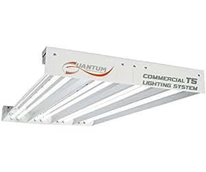 Quantum 4' T5 432W 8-Tube Fixture without Lamps, Medium