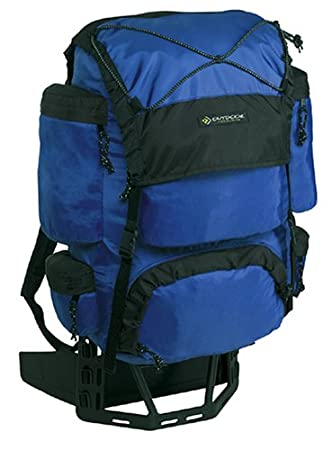 outdoor products dragonfly external frame backpack cobalt - External Frame Backpacks